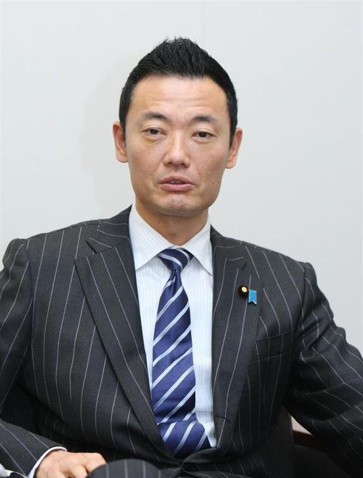 中田宏氏(瀧誠四郎撮影)