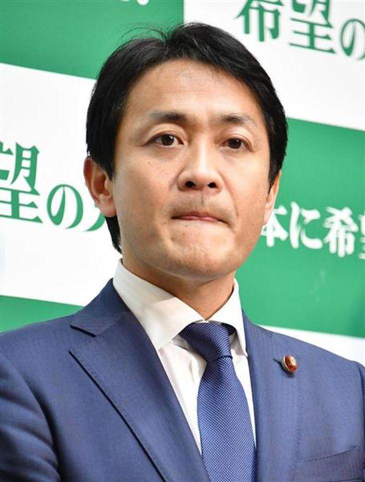 希望の党の玉木雄一郎代表(斎藤良雄撮影)