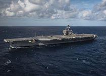 """中国がA2ADの""""難敵""""とする米原子力空母の1つ「ジョージ・ブッシュ」(米海軍提供)"""