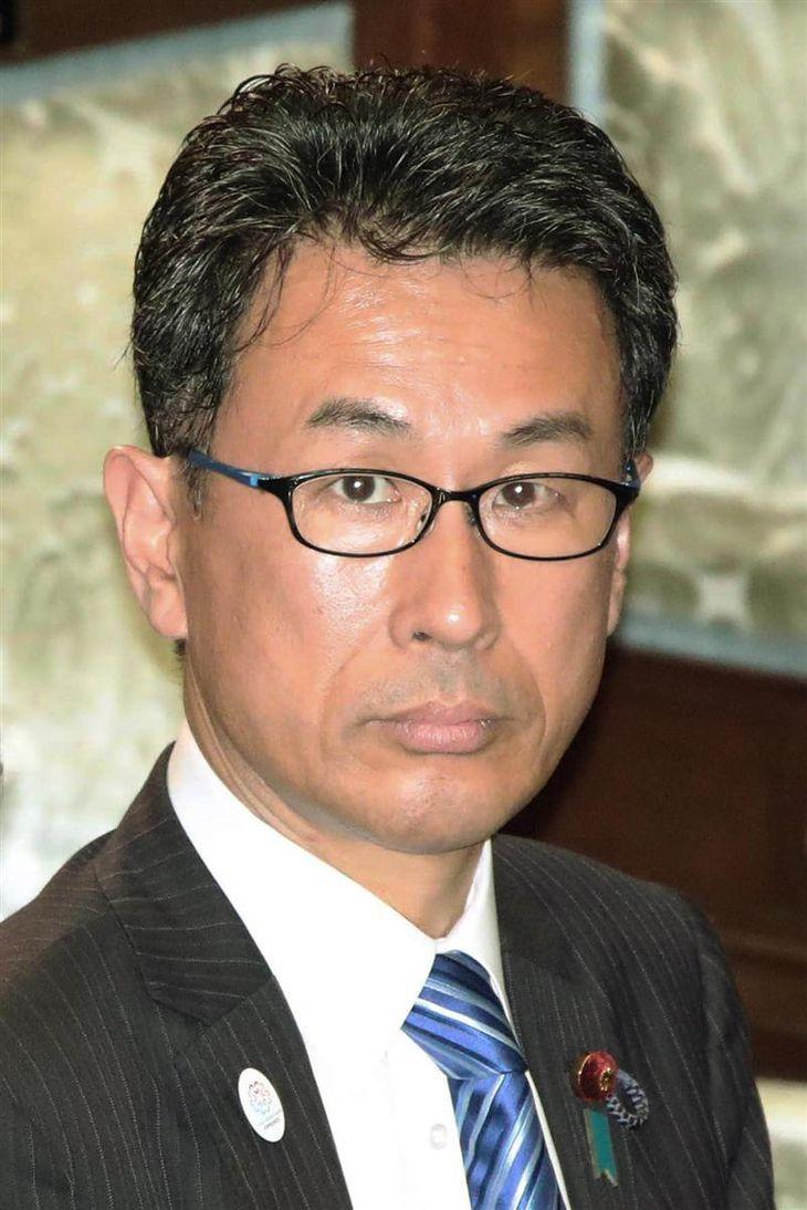 自民党・長尾敬氏(春名中撮影)