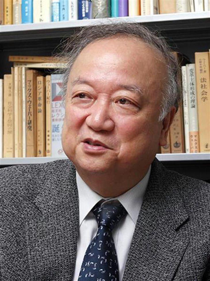 早稲田大学教授・上村達男氏(本人提供)