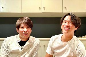 株式会社OMATSURIを設立し、代表取締役社長に就任した松尾陽介さん(左)