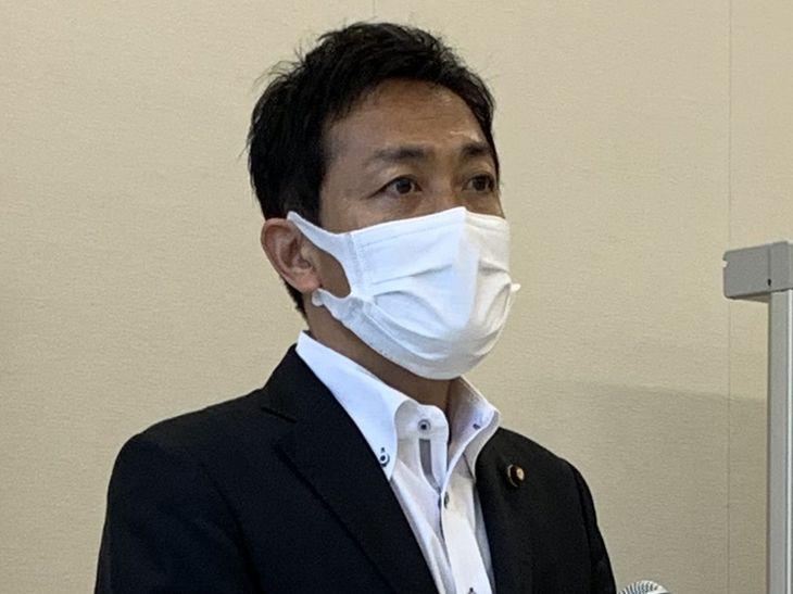 国民民主党の玉木雄一郎代表(原川貴郎撮影)