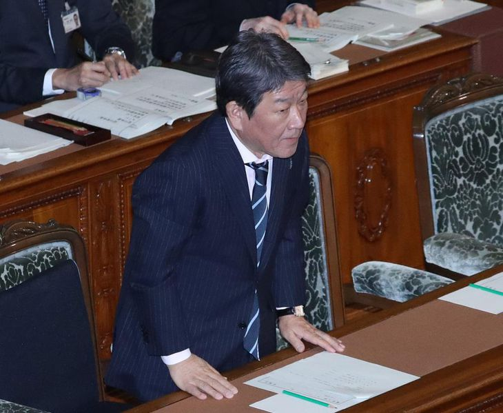 日米貿易協定承認案が衆院通過
