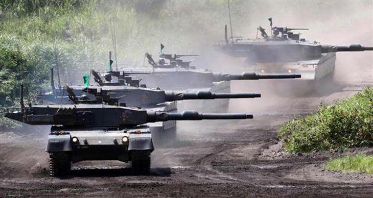 作戦に必要な戦車、火砲を持たず、日本を守れるのか