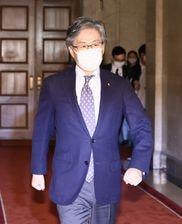 立憲民主党の安住淳国対委員長(春名中撮影)
