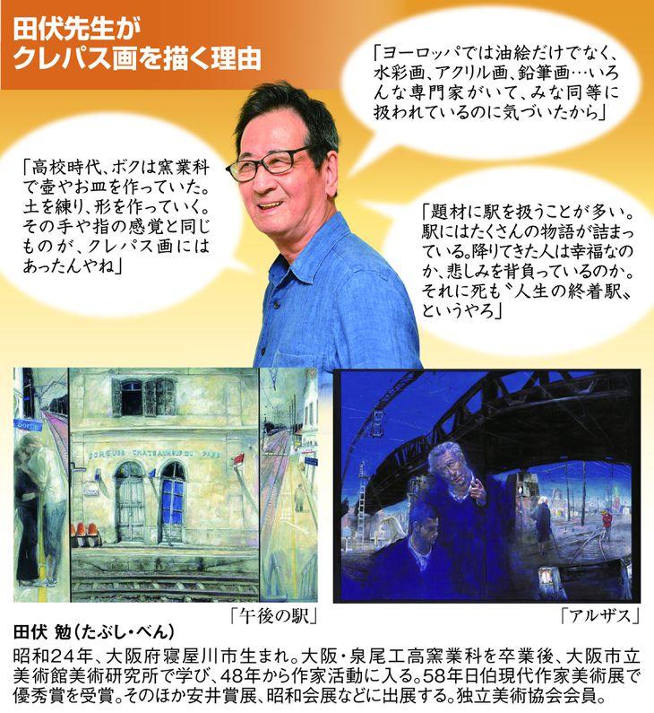 田伏先生がクレパス画を描く理由