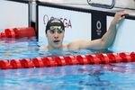 【東京五輪2020 競泳】〈男子400メートル個人メドレー予選〉予選落ちした瀬戸大也=24日、東京アクアティクスセンター(川口良介撮影)
