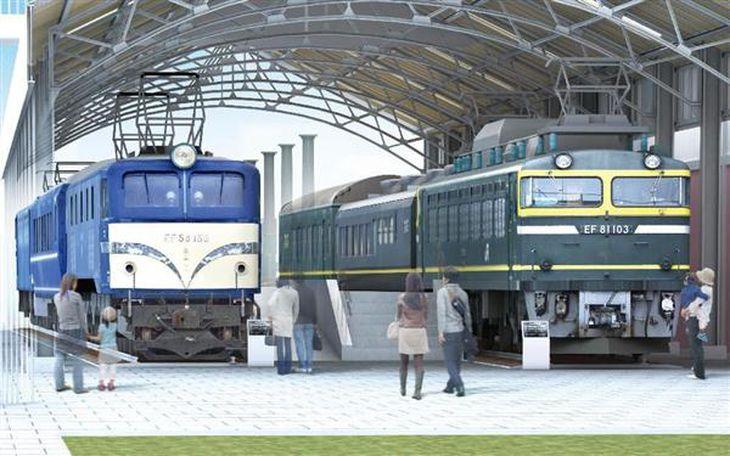 京都鉄道博物館に53両収蔵、国内最多 500系、EF52、581系… JR西日本、平成28年オープン