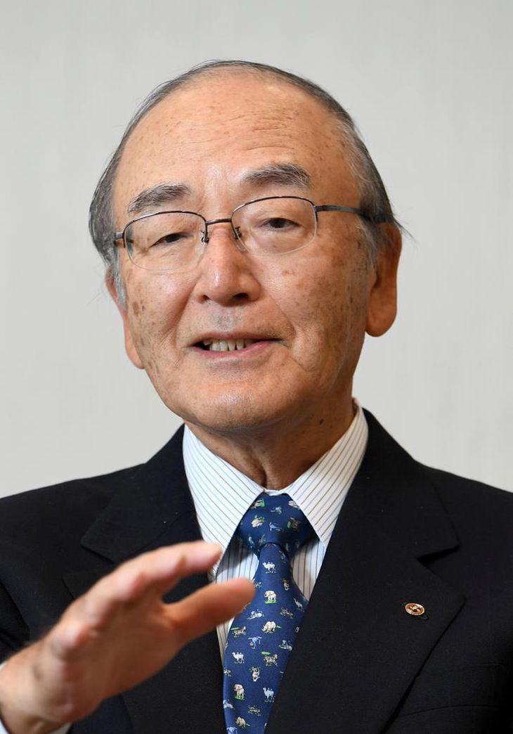 日本商工会議所の三村明夫会頭