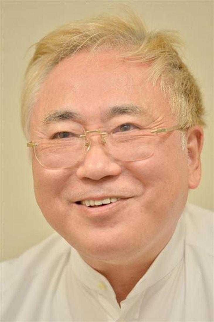 高須クリニックの高須克弥院長=2015年11月13日午後、東京都港区赤坂