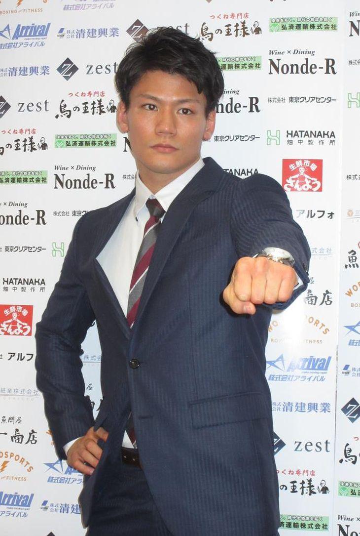 【スポーツ異聞】初の世界戦に燃えるボクシング井上岳志「命懸けでやる」