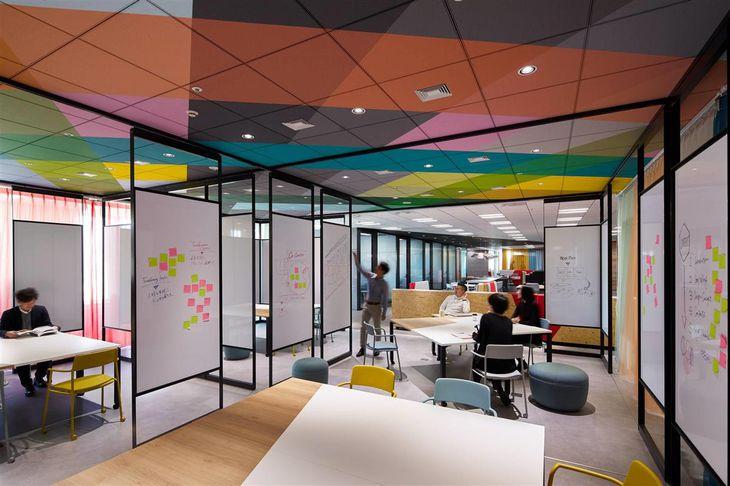 デザイン思考を生かせる作りとなっているリッジラインズのオフィス