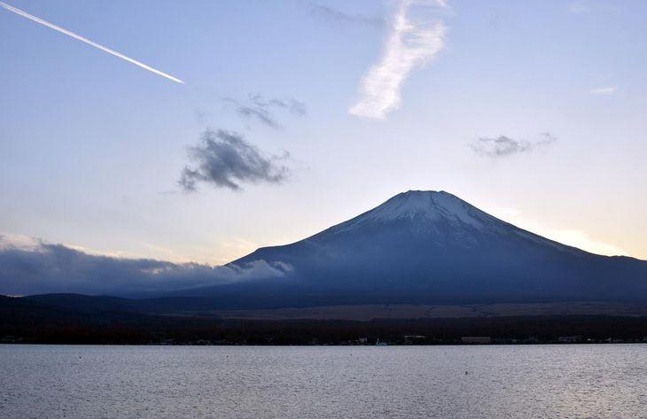 富士山=昨年11月17日(渡辺浩撮影)