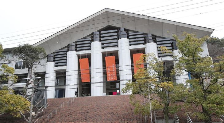 京都造形大学が「京都芸術大学」へ校名変更の方針を発表。京都市芸大は京都造形大学に対し、名称の使用差し止めを求め提訴した=京都市左京区の京都造形大学(恵守乾撮影)